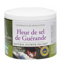 Guerande Natural Flower Sea Salt, 125 g