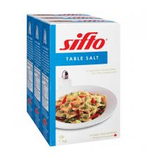 Sifto Sel de Table, 3 x 1 kg