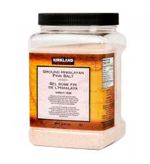 Kirkland Signature Ground Himalayan Pink Salt, 2.27 kg