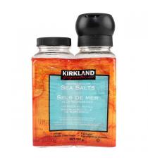 Kirkland Signature Mediterranean Sea Salt with Grinder and Refill, 738 g