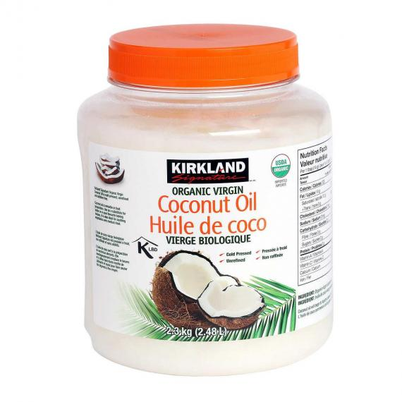 Kirkland Signature Organic Virgin Coconut Oil, 2.3 kg