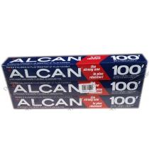 Alcan Aluminium Foil 30.5 cm x 30.48 m - 3 packs