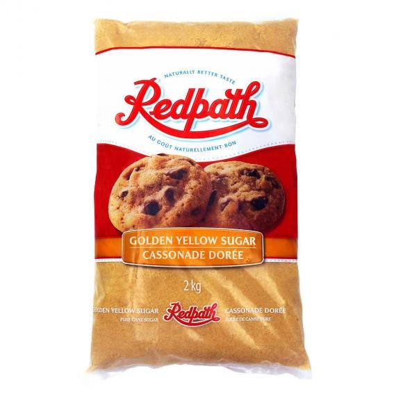 Redpath Jaune d'Or, de Sucre, 2 kg