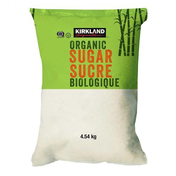 Kirkland Signature de Sucre Biologique, de 4,54 kg
