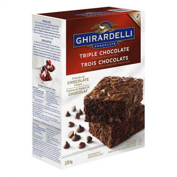 Ghirardelli Brownie Mix, 2.83 kg