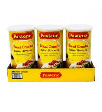 Pastene Bread Crumbs Seasoning, 3 x 680