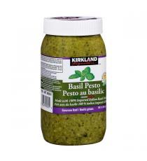 Kirkland Signature Basil Pesto, 630 ML