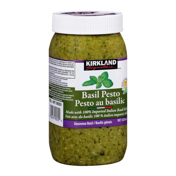 Kirkland Signature Basil Pesto, 630 ML