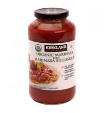 Kirkland Signature Organic Marinara Sauce 3 x 860 ml