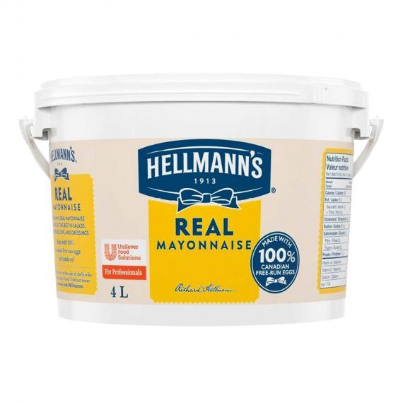 Hellmanns De La Vraie Mayonnaise 4 L