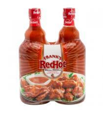 Frank's RedHot - Sauce au piment de cayenne originale 2 × 740 ml