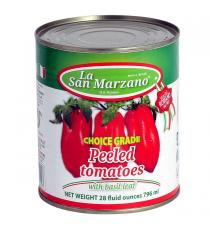 La San Marzano Whole Peeled Italian Tomatoes 6 × 796 ml