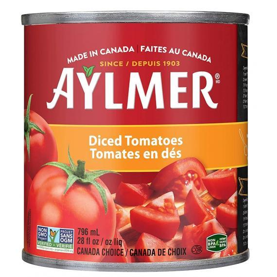 Aylmer Dés de Tomates 8 x 796 ml