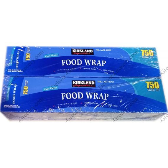 Kirkland Signature Plastic Food Wrap 2 X 30.48 cm x 228.6 m