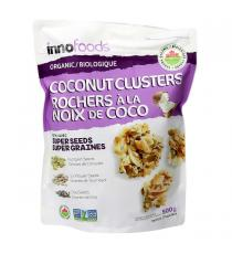 INNO Specialty Foods Organic Coconut Clusters, 500 g