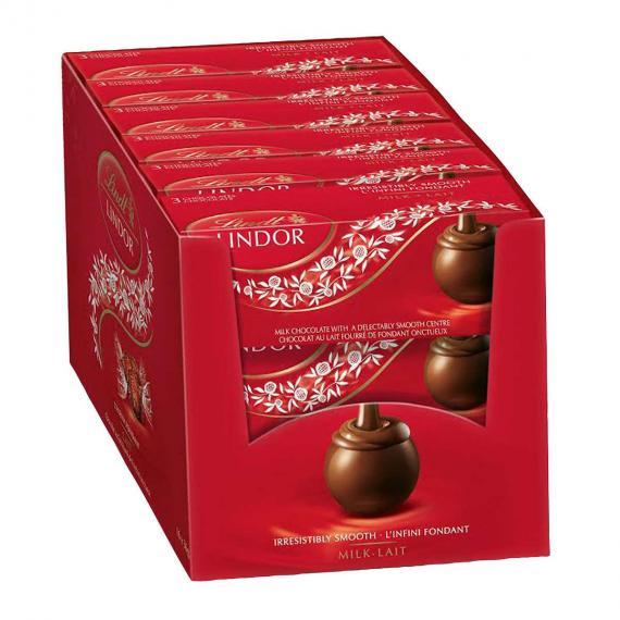 Lindt Lindor Milk Chocolate, 18 x 36 g