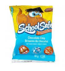 Treasure Mills - School Safe - Boite de 36 sachets de biscuits tendres aux brisures de chocolat 36 × 40 g