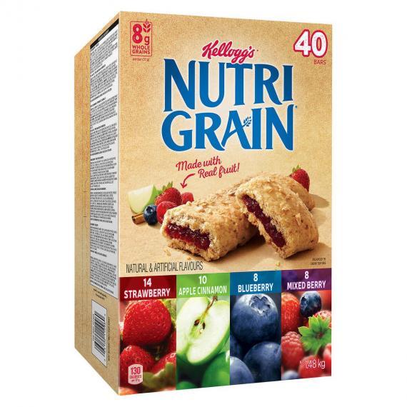 Kellogg Nutri-Grain Barres de 1,48 kg