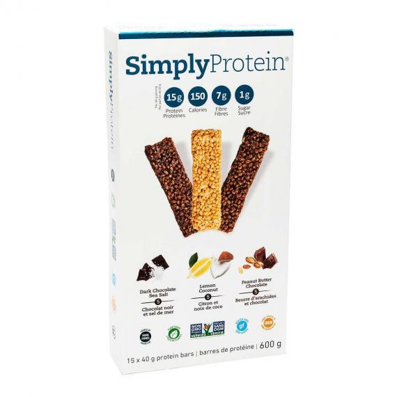 Wellness Foods Simply Protein Bar, 15*40 gr