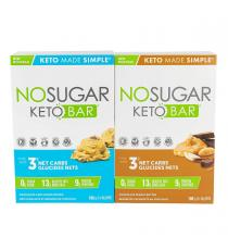 No Sugar Keto Bars 12 × 40 g