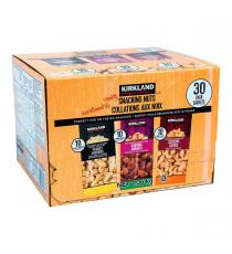 Kirkland Signature Variety Snacking Nuts, 30 x 45 g