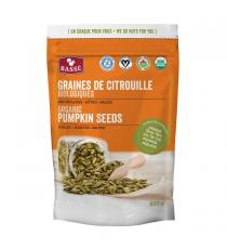 BASSE Organic Pumpkin Seed Kernels, 835 g