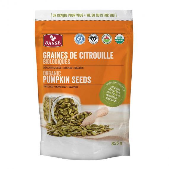 BASSE Bio Graines de Citrouille, 835 g