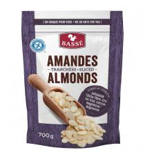 BASSE Sliced Almonds, 700 g