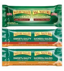 Nature Valley - Barres granola Sucrées et salées saveurs variées 36 × 35 g