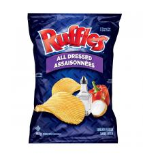 Frito Lay Ruffles All Dressed, 585 g