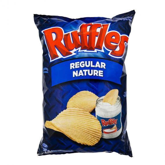 Frito Lay Ruffles Regular 585 g