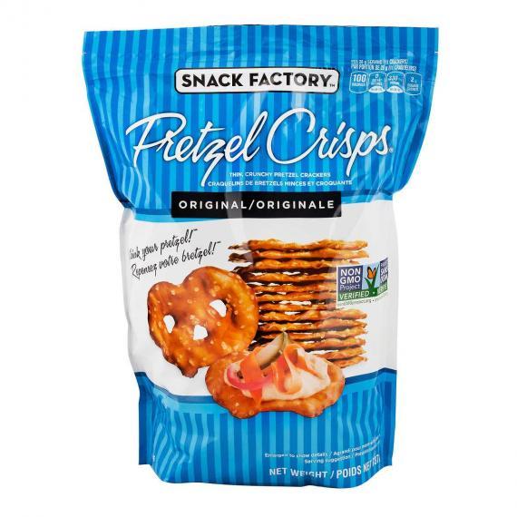 Snack Factory Pretzel Crackers, 737 g