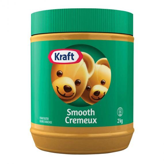 Le Beurre d'Arachide Kraft 2 kg