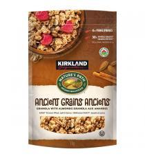 Kirkland Signature - Boite de granola aux amandes et aux grains anciens Heritage de 1 kg