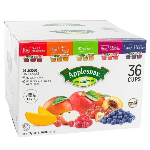 Applesnax des Collations de Fruits, 36 x 113 g