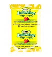 Mott's Fruitsations - Collations à saveur de fruits formes variées Légumes 68 × 22.6 g