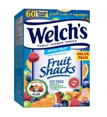 Welchs Fruit Snack, 60 x 22 g