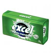 Excel Menthe verte sans Sucre Gomme, 8 packs