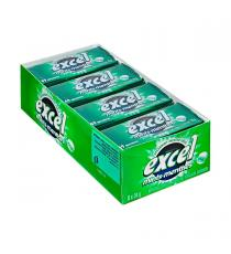 Excel Menthe verte sans Sucre Menthes, 8 packs