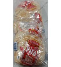 Andalos Small White Pita Bread, 5 packs x 6 units