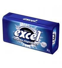 Excel Hiver Frais sans Sucre Menthes, pack de 8