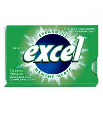 Excel Sugar-free Spearmint Gum 12 packs of 12