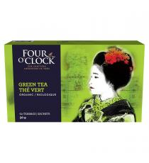 Four O'Clock Organic Green Tea, 60-count