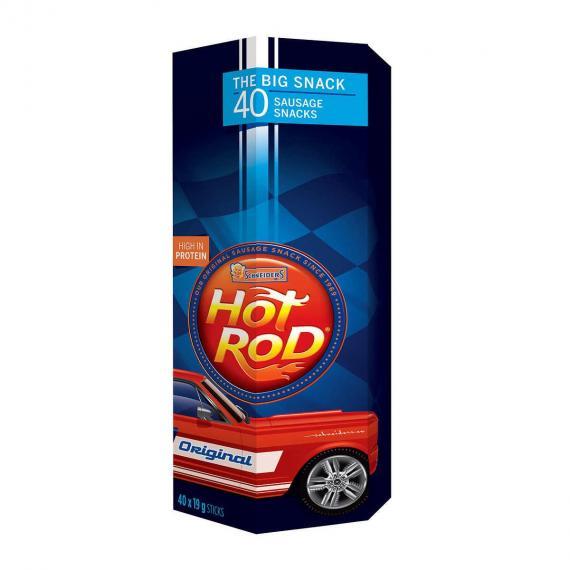 Schneider's Hot Rod Meat Sticks 40 × 19 g