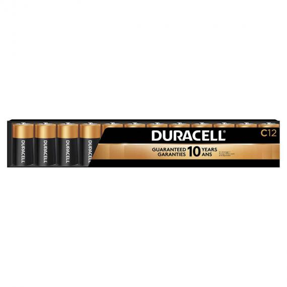Duracell C Batteries Pack of 12