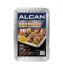 Alcan - Plateau BBQ Buddy pour le gril Paquet de 24