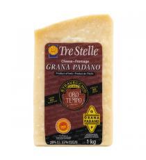 Tre Stelle Oro Del Tempo Grana Padano Cheese Wedge 1 kg