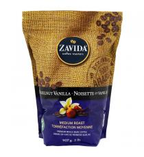 Zavida Hazelnut Vanilla Coffee, Medium roast, Premium whole-bean 907 g