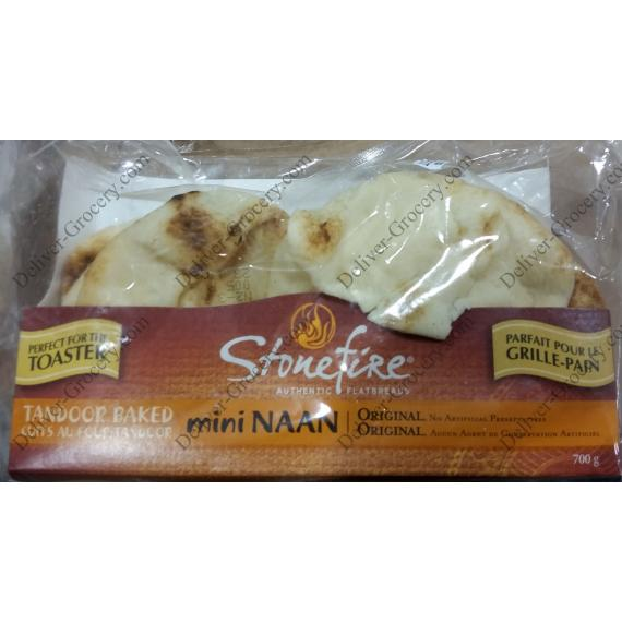 Stonefire Cuit au four Tandoor Mini Naan 700 g