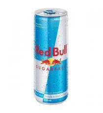 Red Bull - Boisson énergisante sans sucre 24 x 250 ml